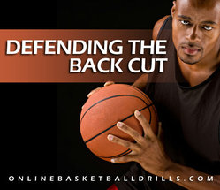 DEFENDING THE BACK CUT 2 basketball defense drill