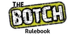 The Botch rulebook title