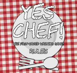 Yes Chef! rulebook title