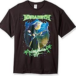 snake-Camisetas de Megadeth