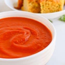 Pressure Cooker Veggie Lovers Tomato Basil Soup