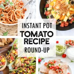 Instant Pot Fresh Tomato Recipe Round-Up