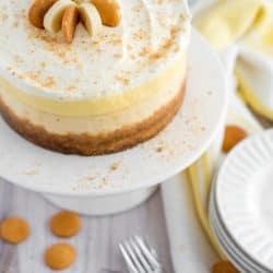 Instant Pot Banana Cream Pie Cheesecake