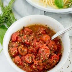 Instant Pot Burst Tomatoes