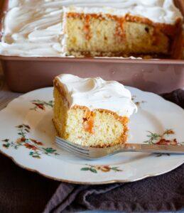 Pumpkin Cheesecake Jello Pudding Poke Cake-15