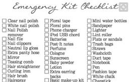 emergency-kit-checklist