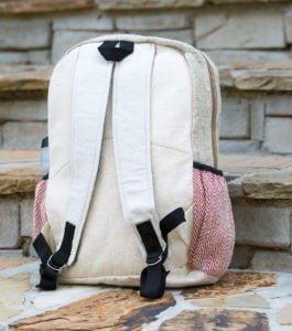 Handmade Himalayan Hemp Backpack