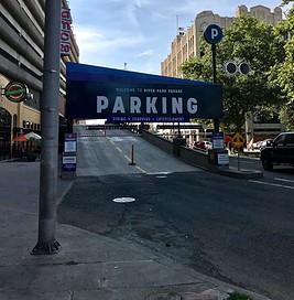 River Park Square parking garage image