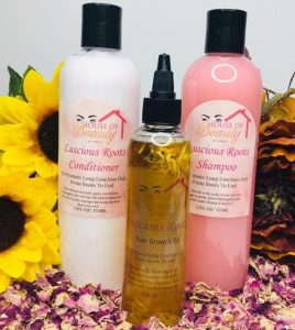 Luscious Roots Hair Care Gift Set