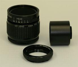 50mm F/3.5 UV Quartz Lens