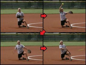 L Drill for Softball