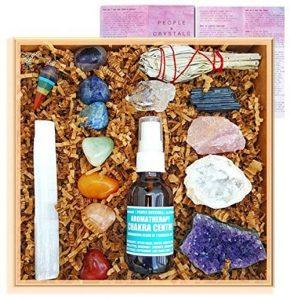 beginners crystal healing kit