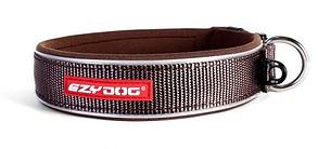 khaki or camouflage pattern dog collar on white bg