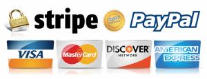 Métodos de pago, tarjeta, PayPal y transferencia