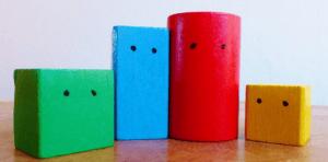 family of blocks