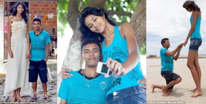 Brazilian girl to become the world's tallest bride