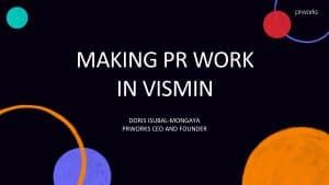 Public Relations work in the Philippines (2019)