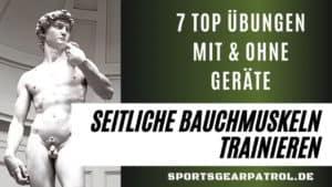 Seitliche Bauchmuskeln trainieren