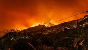 urban wildfire