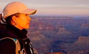 066 32718 300x183 Woman at the Grand Canyon