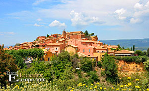 Roussillon in France