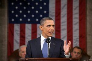 barack obama, official portrait, president of the united states