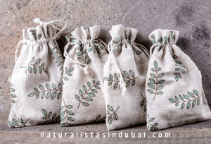 Zero waste gift bags for the holidays