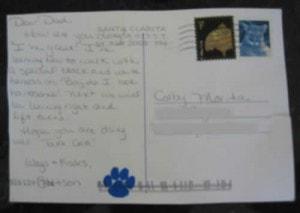 Stetsons First Postcard