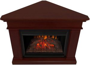 Real Flame Kennedy Grand Corner Electric Fireplace