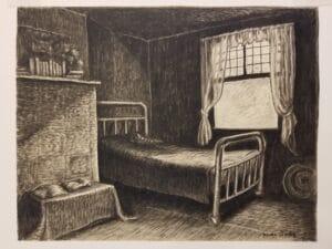 Wanda Gag, The Sears Roebuck Bed 1928 original art for sale