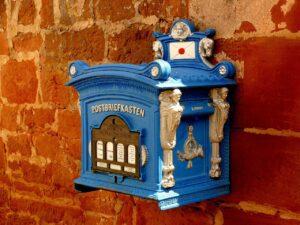 mailbox, letter box, blacksmithing