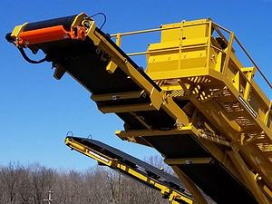 42-inch wide fines conveyor