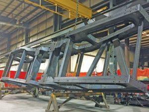 Heavy-duty frame construction