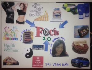 2016 vision board, follow your dreams