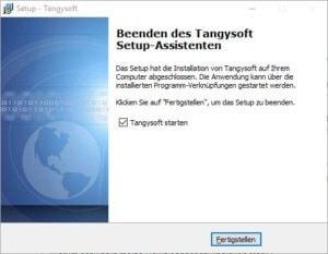 Tangysoft Setup