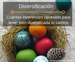 Diversificación cartera de inversion