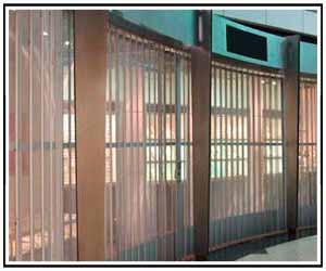 Commercial Security Rolling Grilles Closures OGD™ Overhead Garage Door