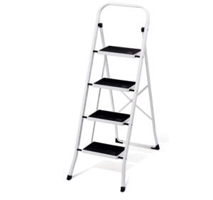 Folding 4 Step Ladder with Convenient