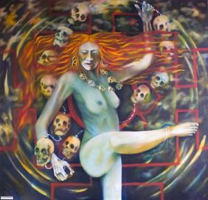 Roger Williamson displays a gallery of dark symbolic art