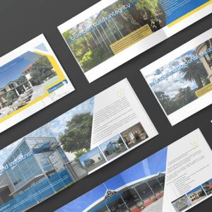 Projekt graficzny booklet katalog