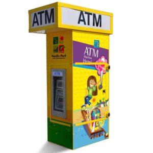 Genmega GT3000 Drive-Up ATM Kiosk Enclosure Wrap