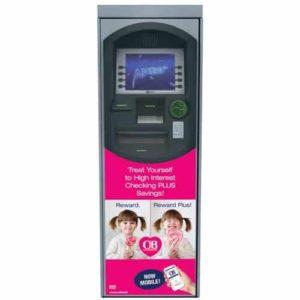 NCR Personas P71 Custom ATM Graphic Wrap