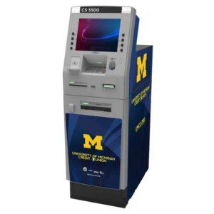 Diebold Nixdorf 5500 Custom ATM Graphic Wrap