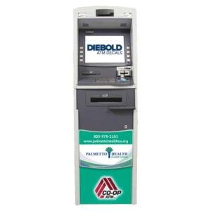 Diebold Opteva 522 ATM Front Panel Graphic Decal