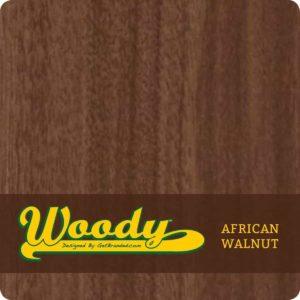 Woody ATM Wrap African Walnut