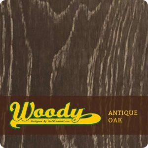 Woody ATM Wrap Antique Oak