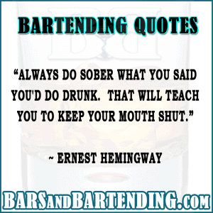 bar quotes do what you say