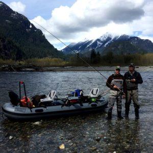 Squamish River fly fishing