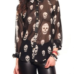 blusas de calaveras