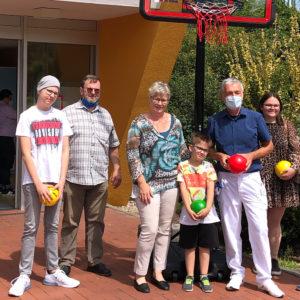 Basketballanlage für die EKKK St. Augustin e.V.